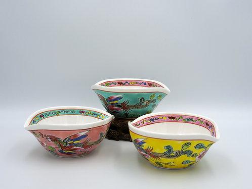 Peranakan leaf shape bowl