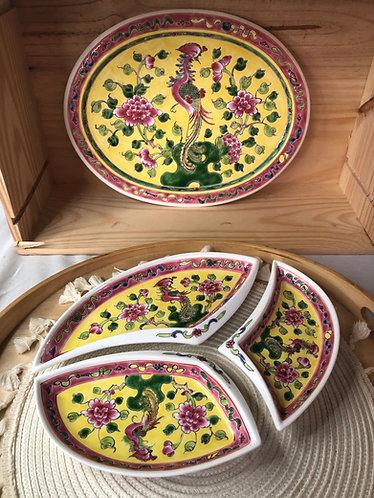 Peranakan 3 + 1 Platter (3 colour)