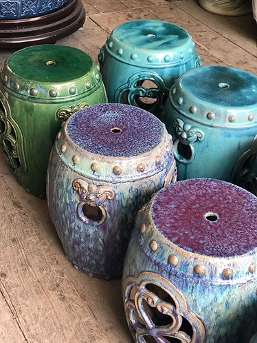 Ceramics stool (3 colours)