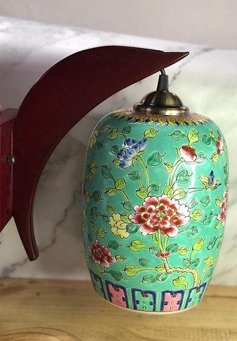 Peranakan hanging lamp