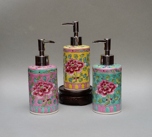 Peranakan Shampoo Dispenser