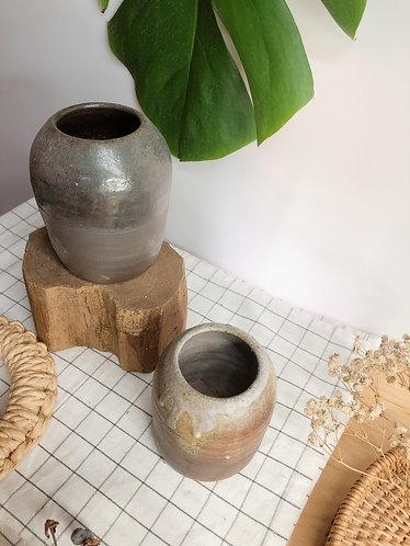 Dragon kiln fired x ash x flame vase (2 designs)
