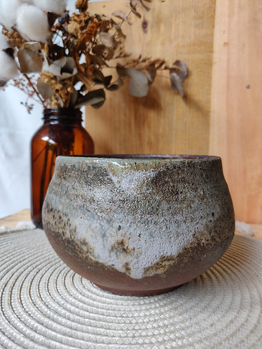 Grey/Brown Weathered Bowl