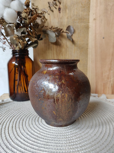 Shades of Brown Toasted Vase