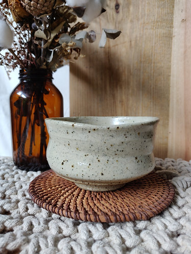 Speckled Freeform Bowl