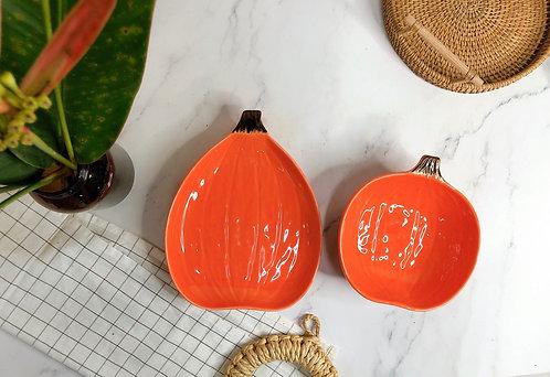 Pumpkin plate / bowl