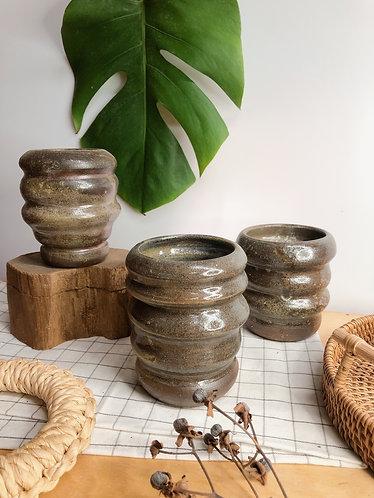 Dragon kiln fired x Michelin vase (3 shapes)