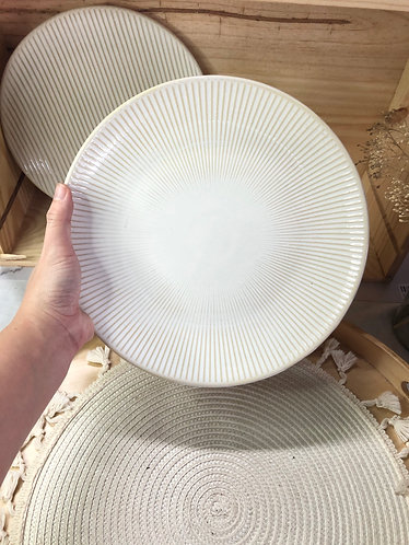 Dining plate (2 designs)