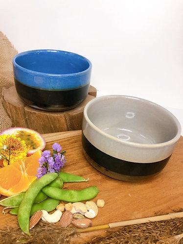 Half/half coloured bowl (2 colours)