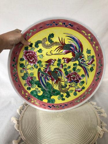 Peranakan big plate (2 colour x 1 pc each)