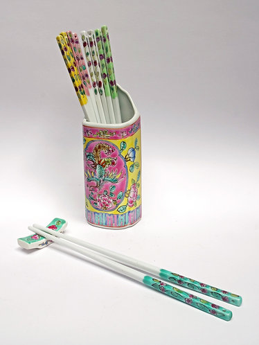 Peranakan Chopstick holder
