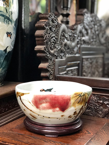 Free style handpainted bowl #1