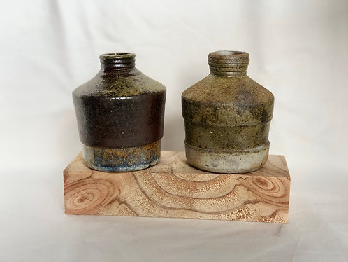 Dragon kiln fired Vases (2 designs)