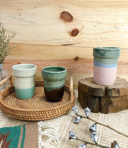 Slim cups (3 designs)