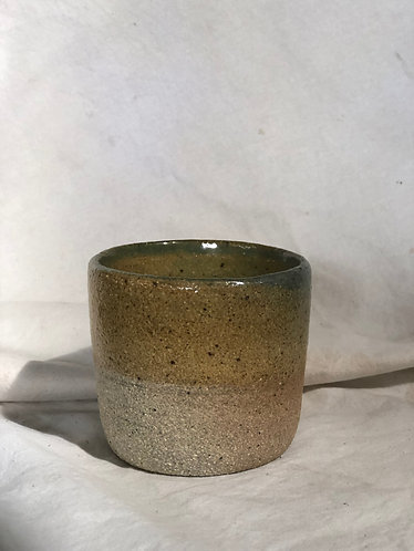 Dragon Kiln Fired - Mustard cup