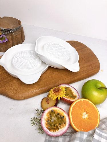 Ceramics grater