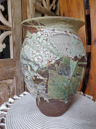 Oval Shoulder Vase
