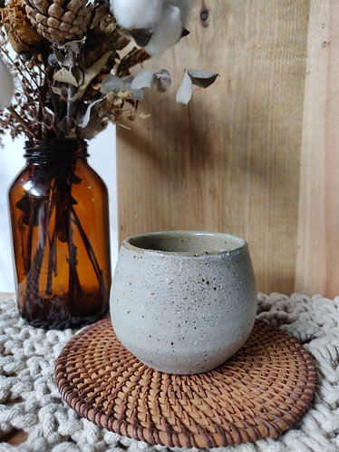 Greyish Oatmeal Speckled Mug
