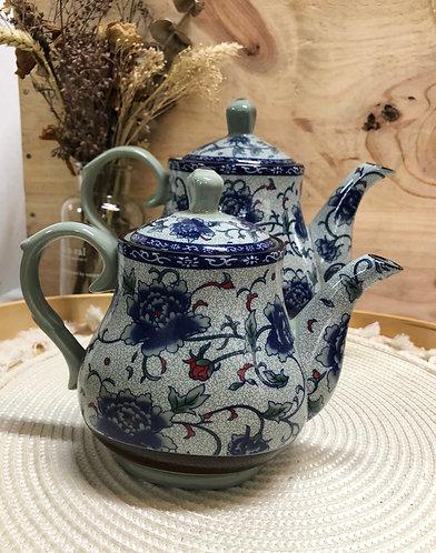 Peony tall teapot (2 sizes)