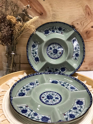 Peony round platter (2 sizes)