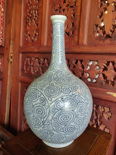 Large Long Neck Vase