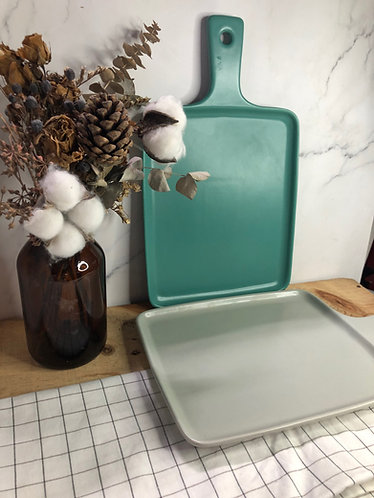 Matt series |Rect. pizza tray (2 colours)