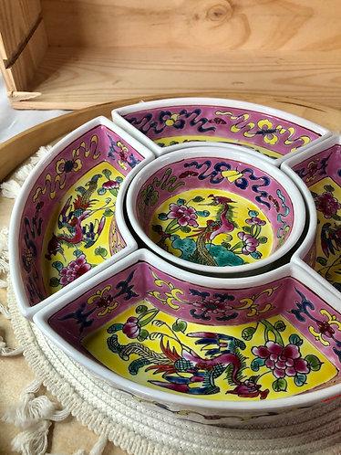 Peranakan 5 in 1 Platter (LAST pc)