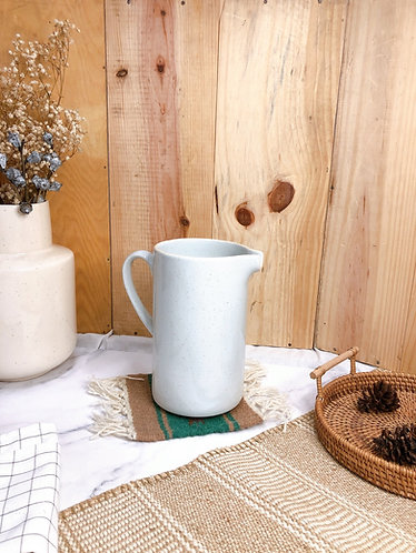White speckled jug