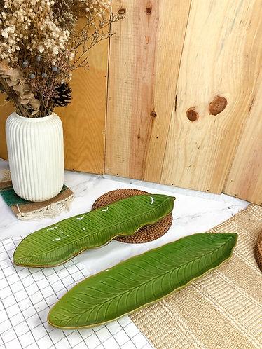 Leaf x Long platter (2 styles)