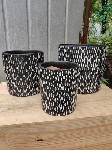 Twirly Dots Pot (3 Sizes)