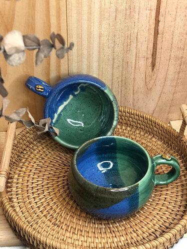 Cappuccino cup (Bluexgreen series #01)