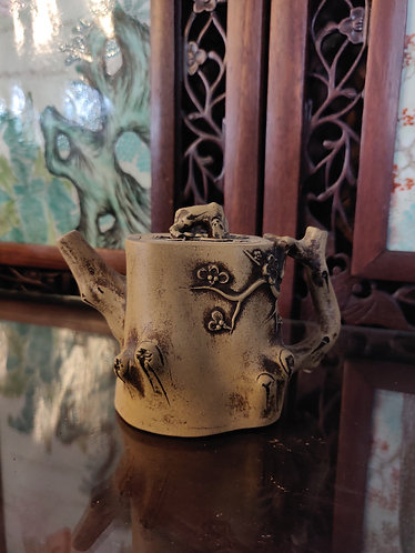 Tree Bark Mini Teapot