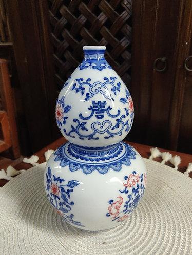 Blue/White Hulu Bottle