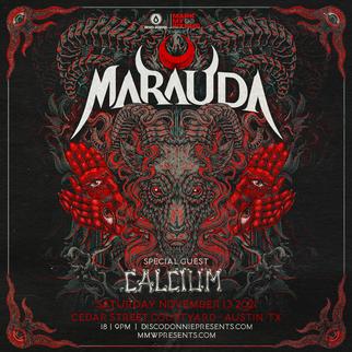 Marauda on 11/13/21 at Cedar Street Courtyard!