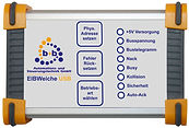 EIBWeiche USB in compact case with visualization, OPC and EIB.VB., EIBWeiche USB, ETS, EIB, KNX, EIBWeiche USB, Buscoupler, ETS, OPC, EIB.VB, compact case, visualization FIAVis, Building automation EIB/KNX, EIBDoktor, b+b, RS232, EIB/KNX-telegrams, fast telegram transmission