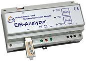 EIBAnalyzer, Langzeitaufzeichnungen, EIB-Telegrammen, EMV, EIBDoktor-Software, Gebäudeautomation, Gebäudeautomation, EIB/KNX, Industrieautomation, Individualprogrammierung, EIBDoktor, EIBWeiche, EIB, KNX, Reiheneinbaugerät 9TE