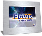 The FIAVis Evolution System offers a modern Touch Panel PC with integrated EIB/KNX coupling device. FIAVis, FIAVis Evolution, Touch Panel, FIAVis Software, Software, USB, LAN, RS232, VGA, FIAVis Designer, OPCServer,