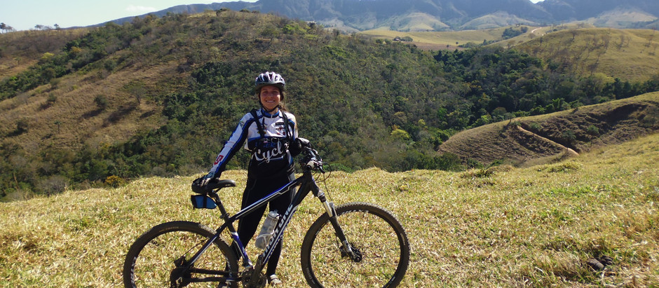 Como perdi o medo de pedalar clipada na mountain bike...