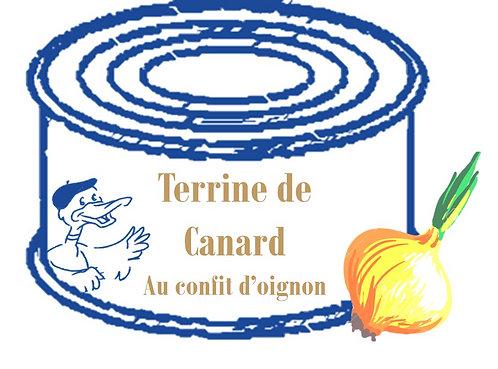 Terrine de Canard au confit d'Oignon 130g