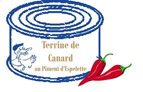 Terrine de Canard au piment d'Espelette 130g
