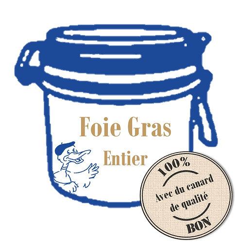 Foie gras entier de Canard 300g
