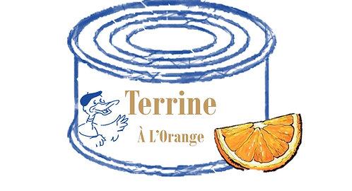 Terrine de Canard à l'orange 130g