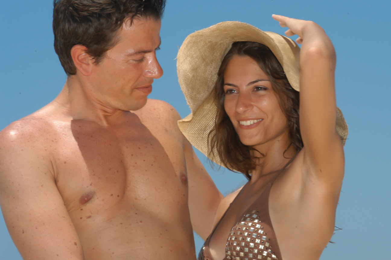 Portrait Photography, couple by sea