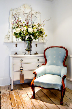 Interior Photography, detail, chair