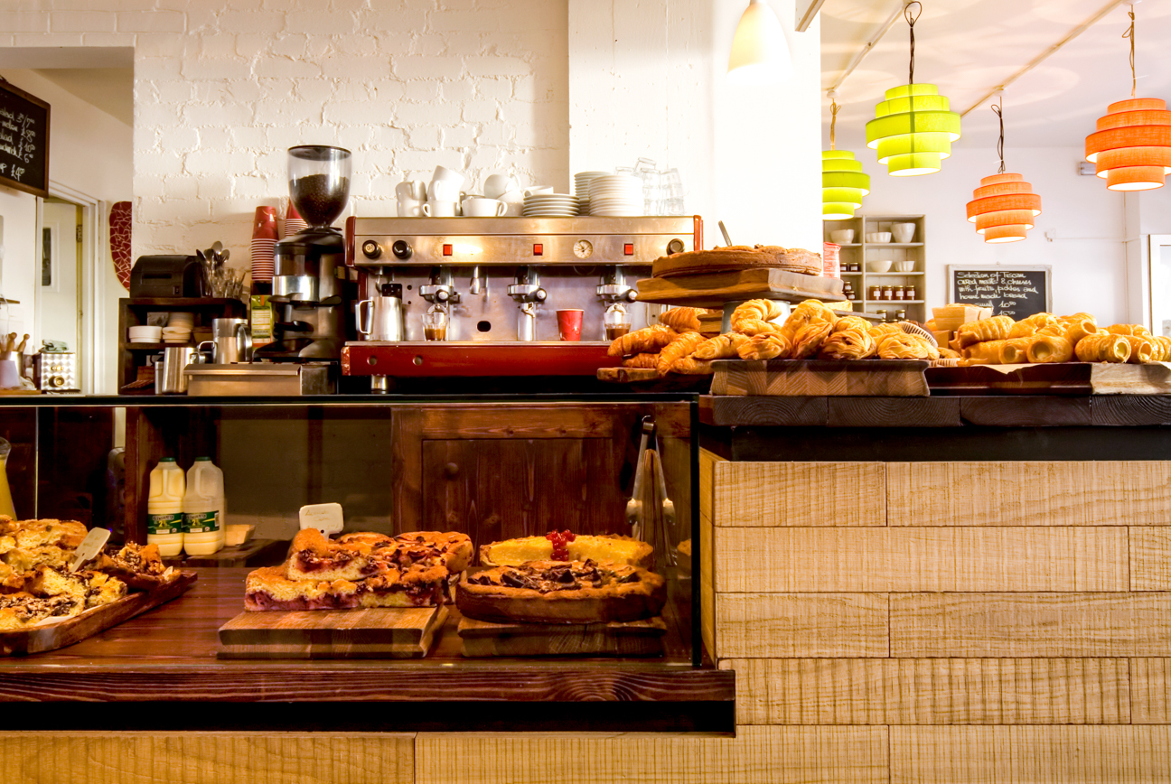 Interior Photography of a Bar