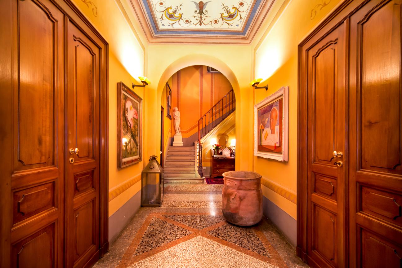 Interior Photography, hallway