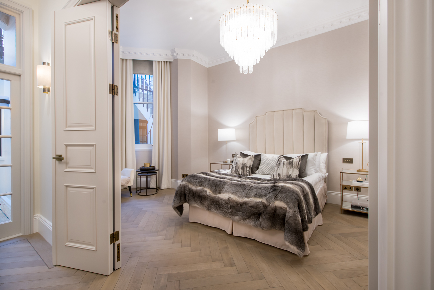 Interior Photography, bedroom