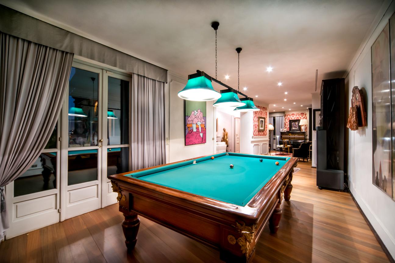 Interior Photography, billiard