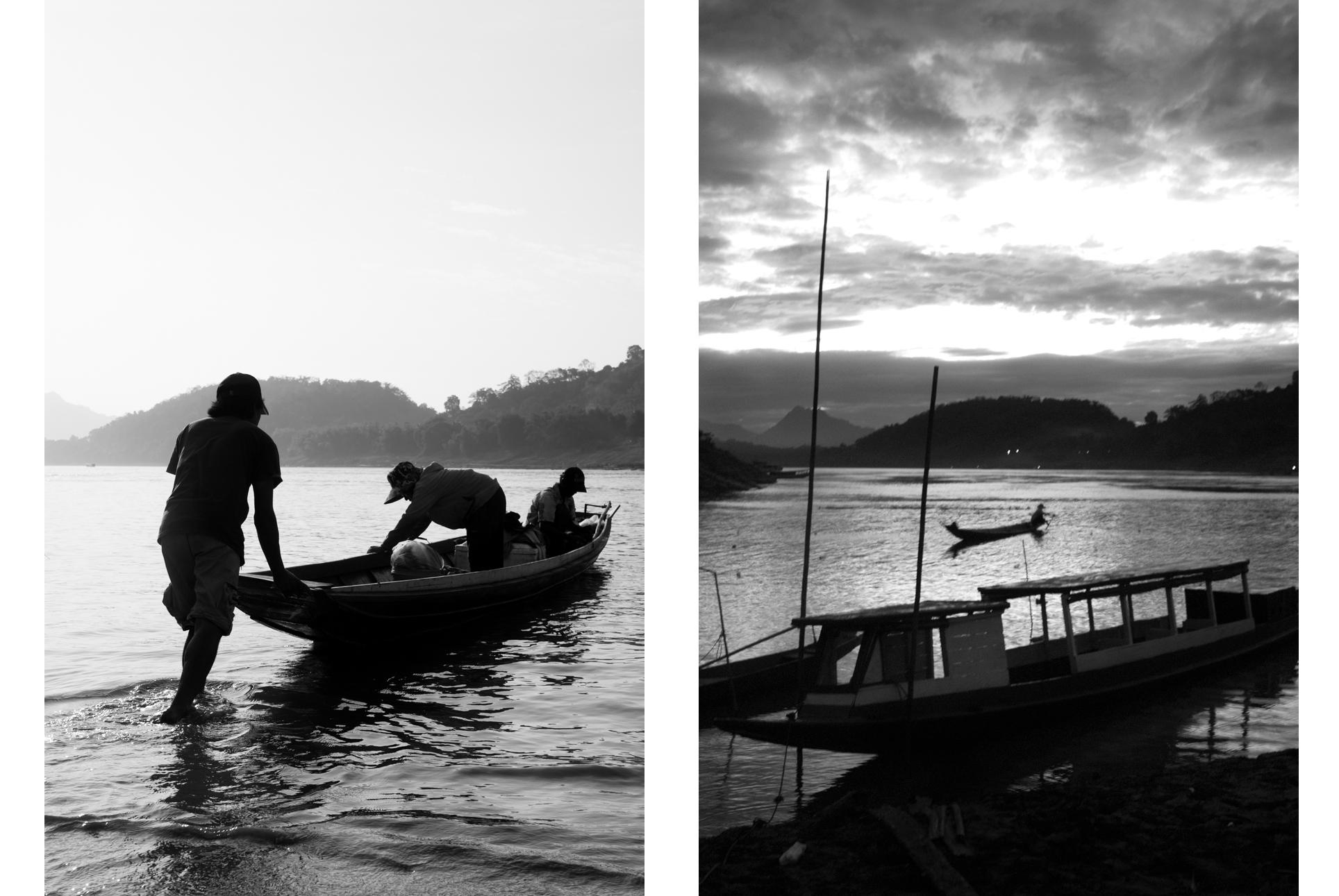 Reportage, Mekong river, boats