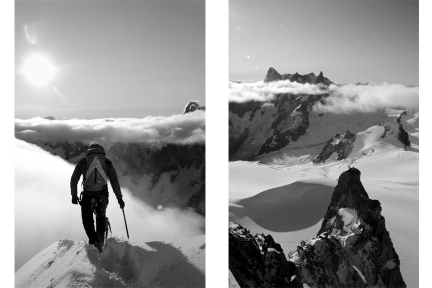 Reportage, Chamonix, alpinist